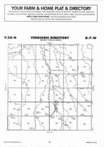 Verdigris Township, Grove Lake, Cottonwood Creek, Directory Map, Antelope County 2006